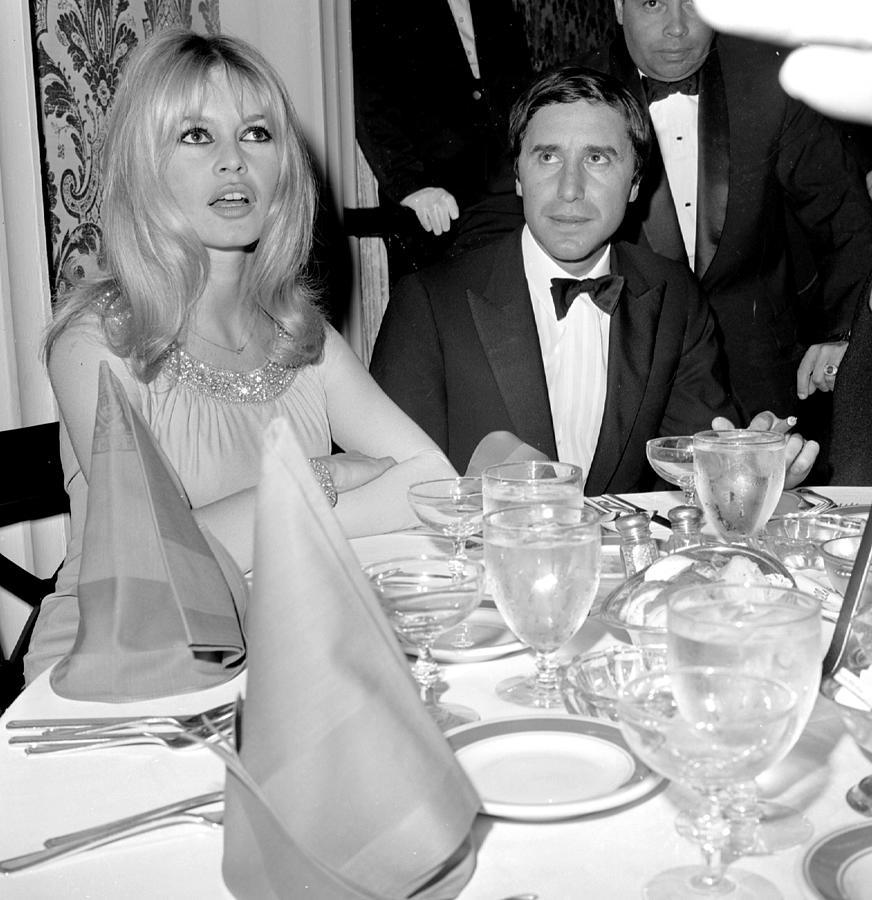 Birgitte Bardot And Bob Zaguri Photograph by New York Daily News Archive