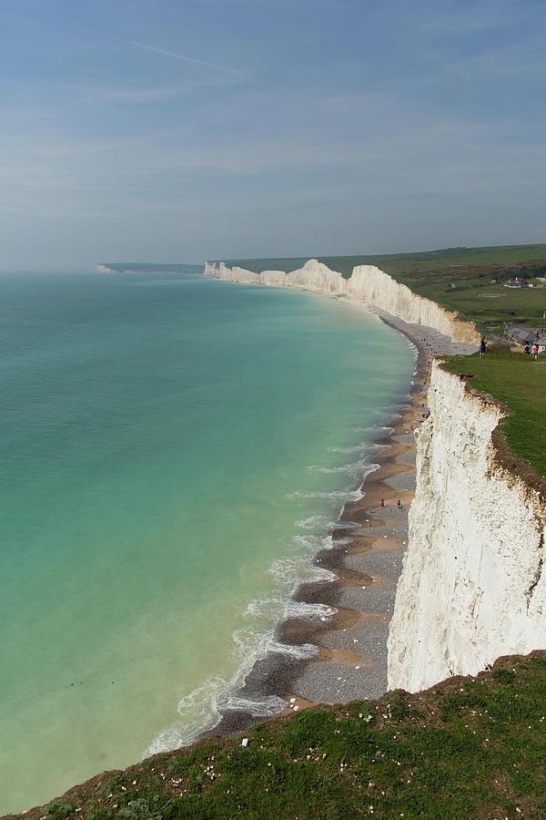 bra priser känsliga färger stor rabatt Birling Gap And Seven Sisters White Chalk Cliffs And Beach East ...