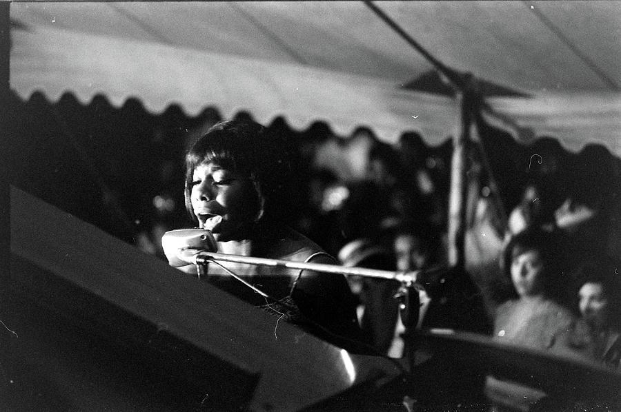 Birmingham Benefit Show Nina Simone Photograph by Grey Villet