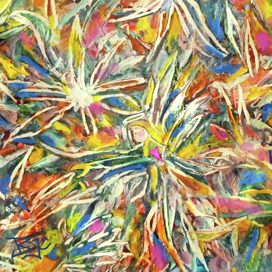 Birth of an Angel-Detail by Jean Batzell Fitzgerald