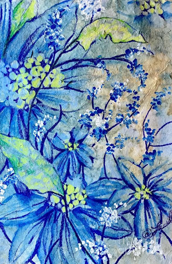 Birthday Blues by Laurel Adams