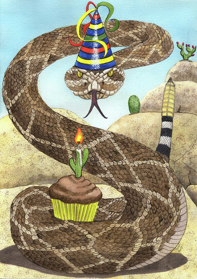 Birthday Buzzworm by Catherine G McElroy