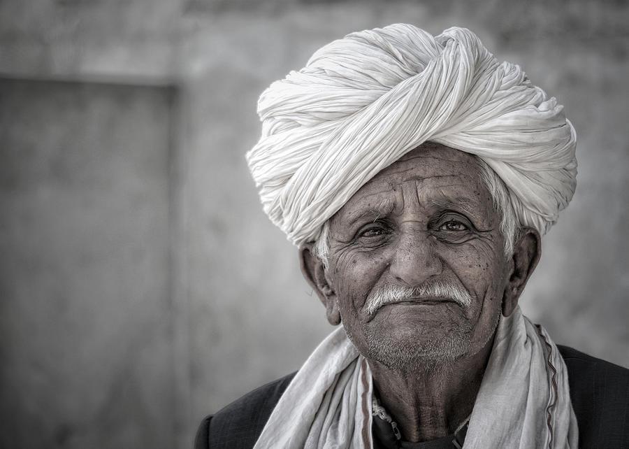 Bishnoi Elder by James Kenning