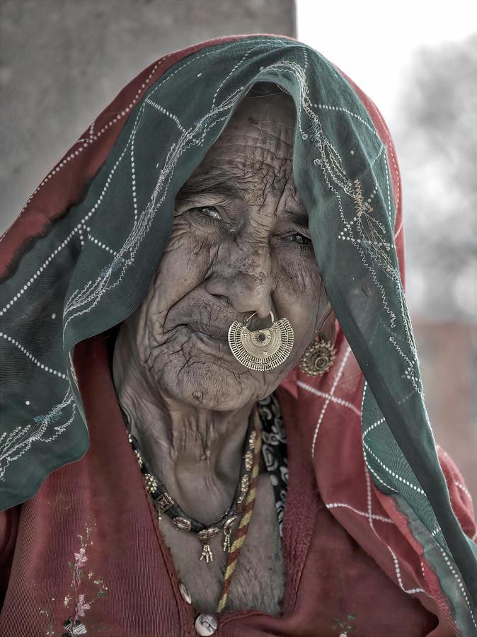 Bishnoi Woman by James Kenning