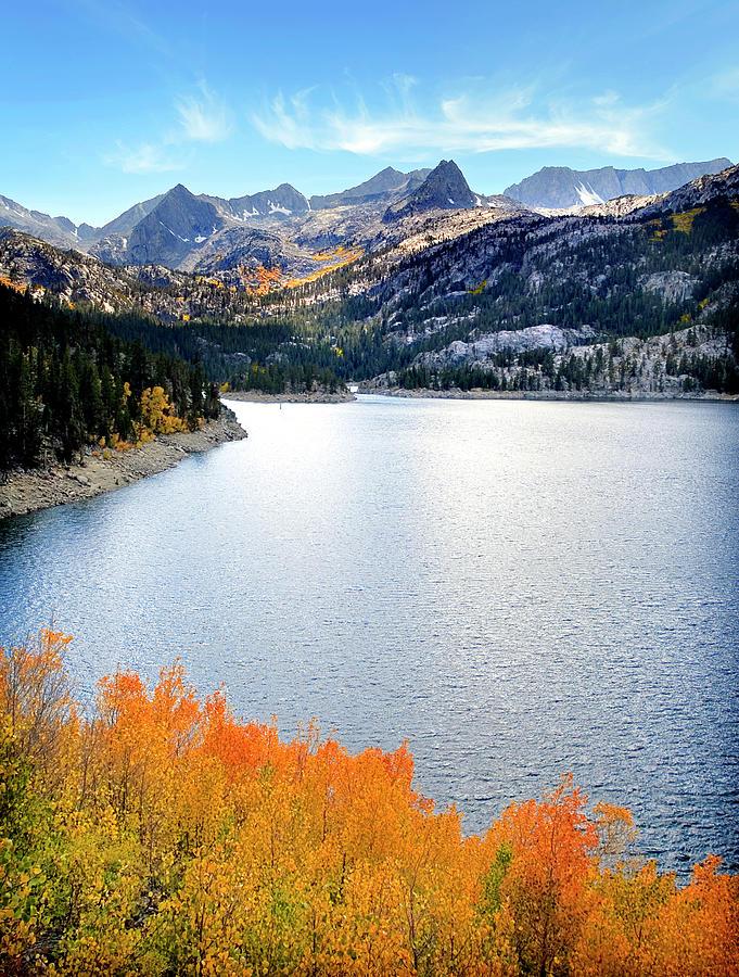 Bishop Creek South Lake Photograph by Stephanie Sawyer