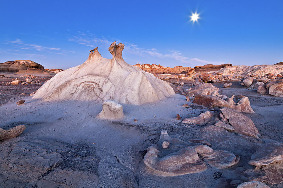 Bisti Badlands Photograph by Gleb Tarro