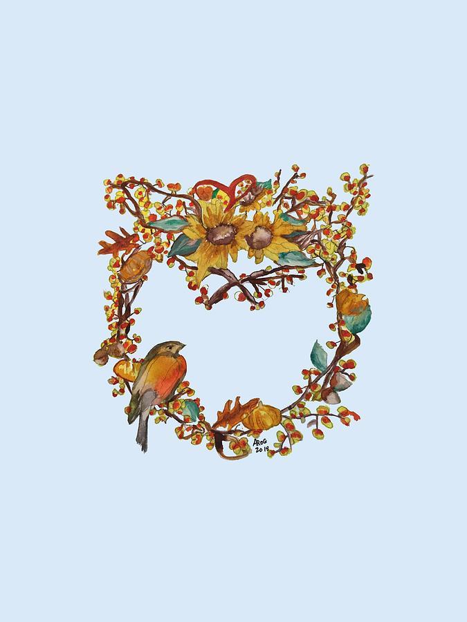 Bittersweet Wreath by Aingeal Rose