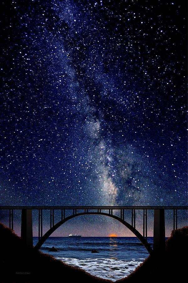Bixby Creek Bridge, Big Sur, California by David Arrigoni