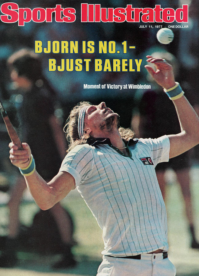 Bjorn Is No. 1 - Bjust Barely Sports Illustrated Cover Photograph by Sports Illustrated