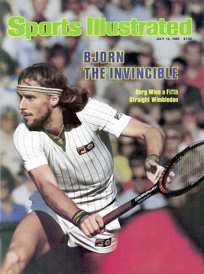 Bjorn The Invincible Sports Illustrated Cover Photograph by Sports Illustrated
