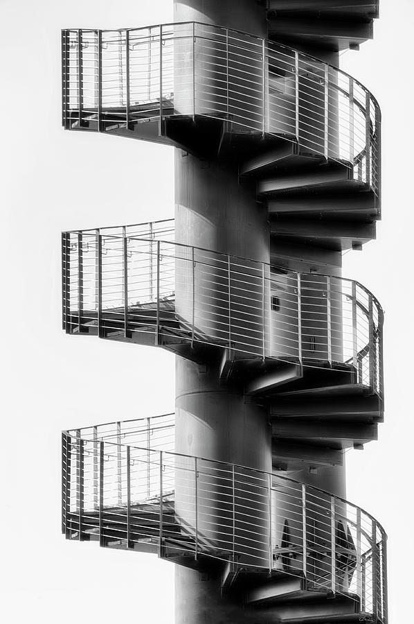 Black and White Abstract Image by Dee Browning