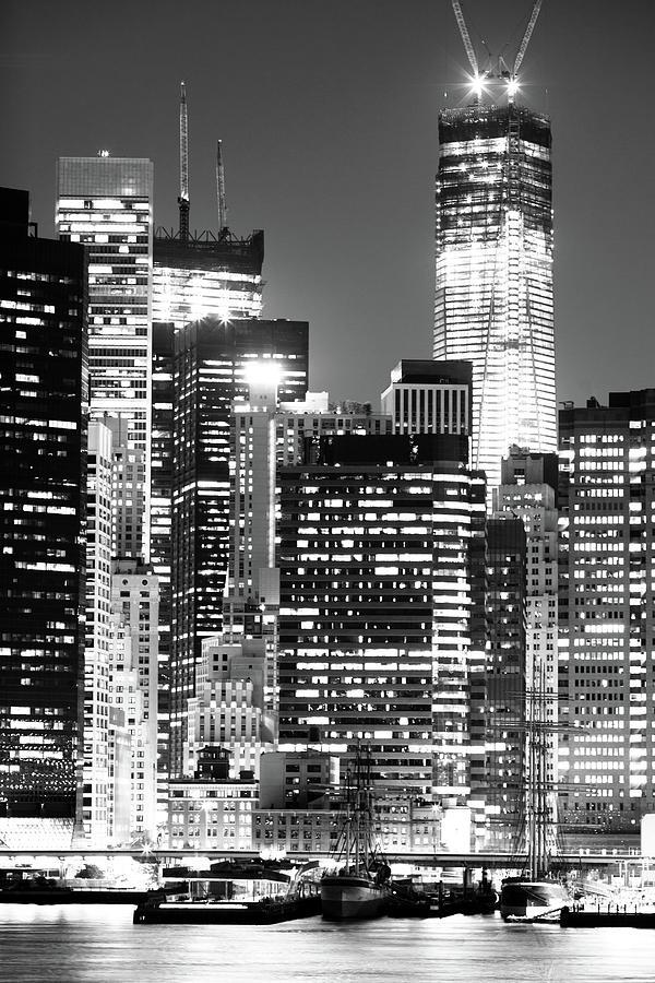 Black And White New York City Photograph by Aleksandarnakic