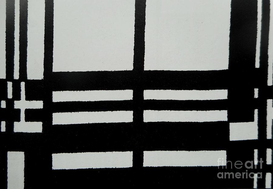 Black and White Pattern-2 by Katerina Stamatelos