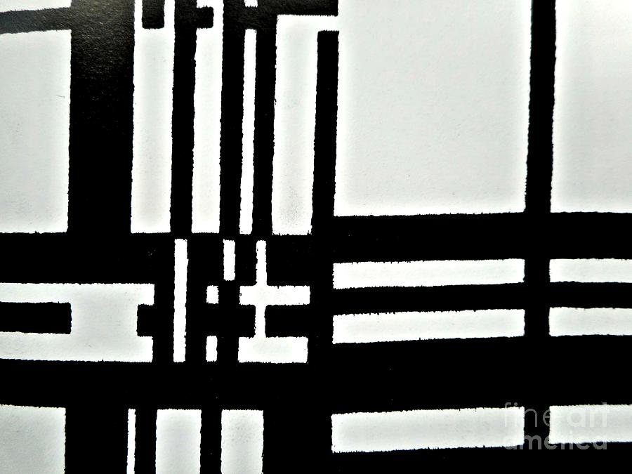Black and White Pattern-3 by Katerina Stamatelos
