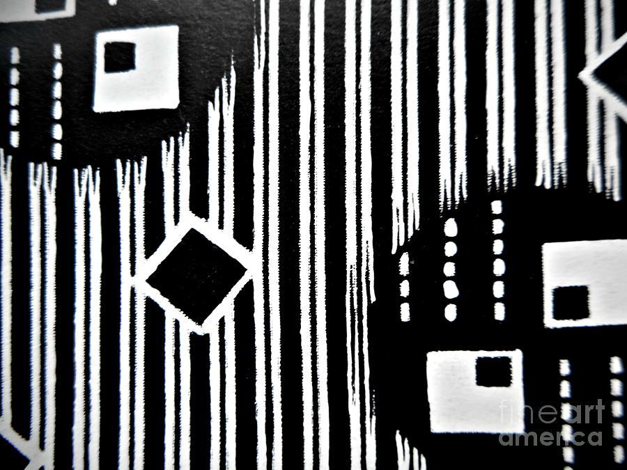Black and White Pattern-8 by Katerina Stamatelos