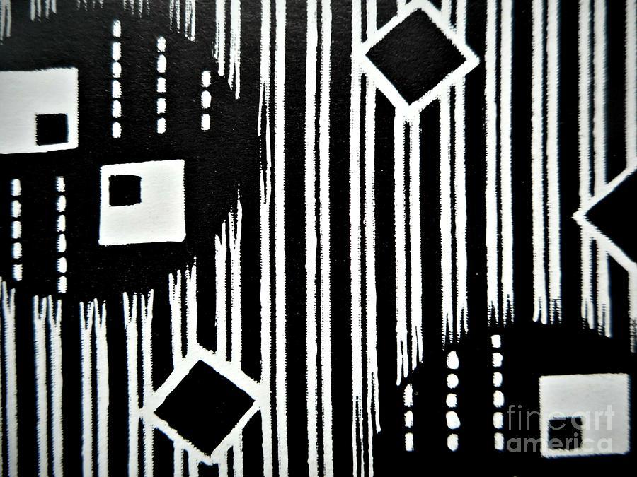 Black and White Pattern-9 by Katerina Stamatelos