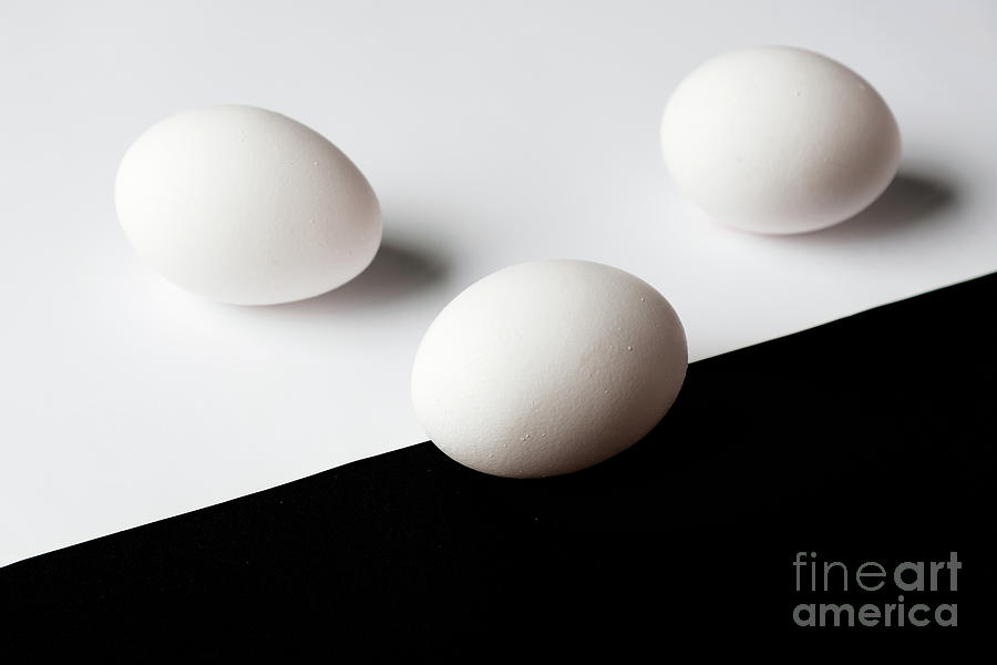 Black and white trio by Marina Usmanskaya