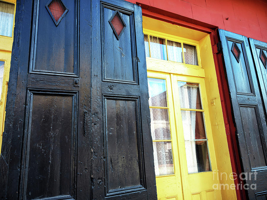 Black and Yellow in New Orleans by John Rizzuto