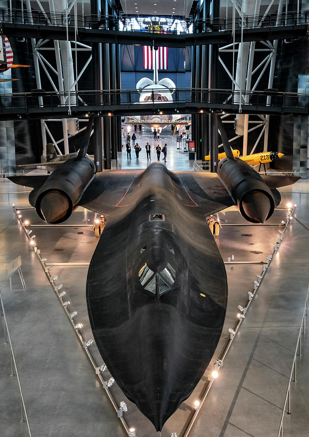 Black Bird Sr7 At The Air And Space Museum Photograph