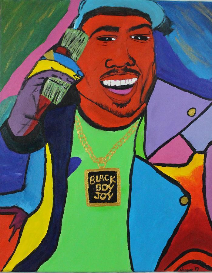 Happiness Photograph - Black Boy Joy by Sonye Locksmith