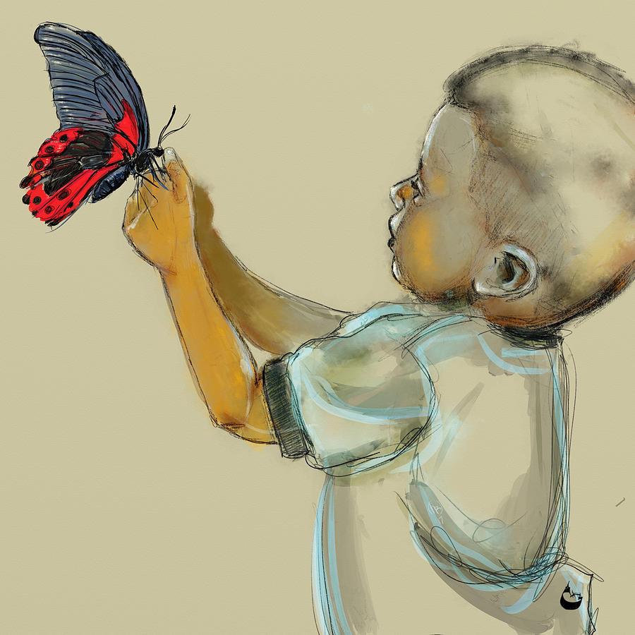 Black Butterfly by Howard Barry