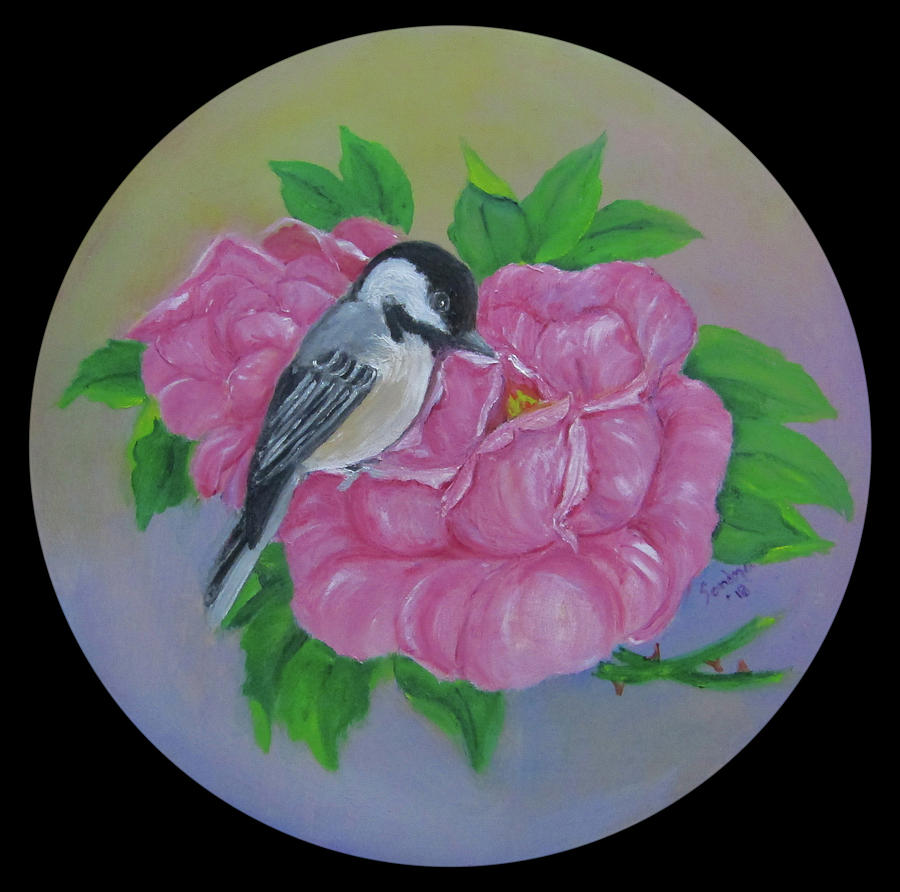 Black-capped Chickadee by Sandra Maddox