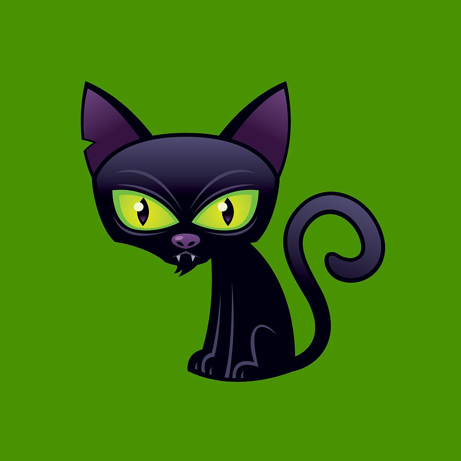 Black Cat Digital Art
