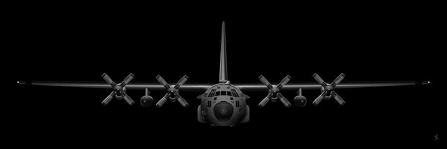 Black Chrome Herk by Michael Brooks