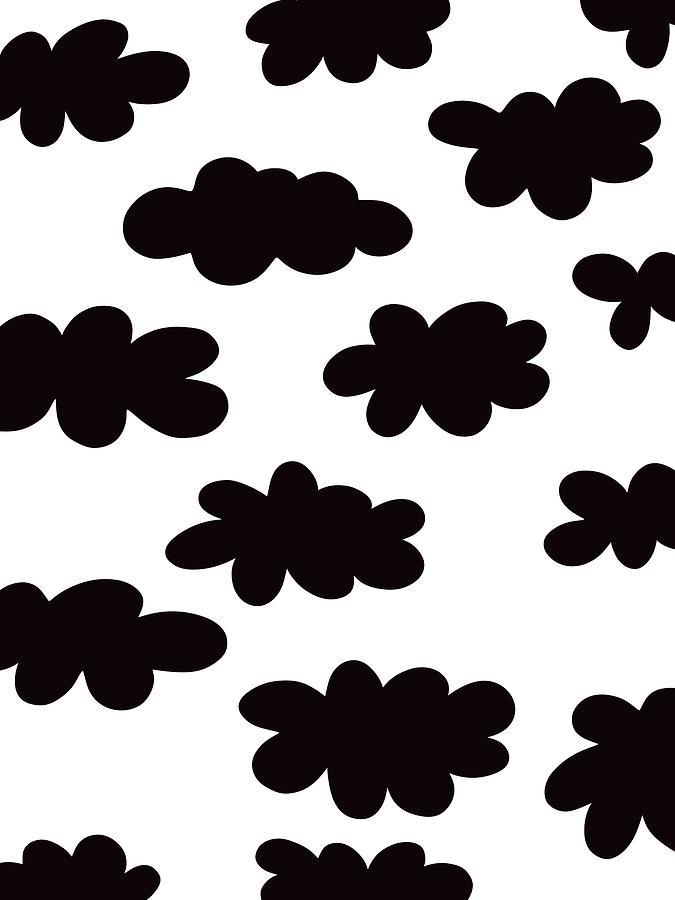 Black clouds by Deborah Carrie