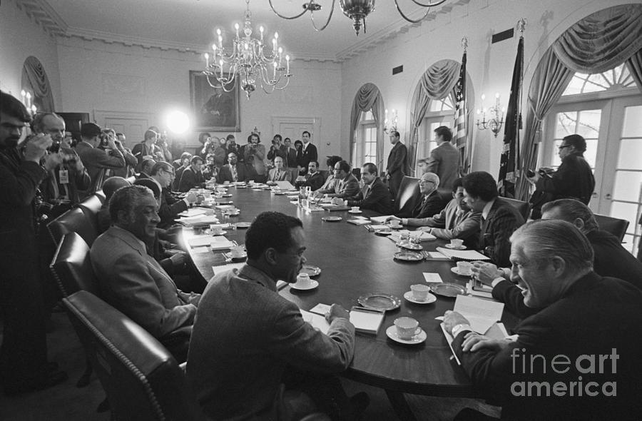 Black Congressmen Meeting Photograph by Bettmann