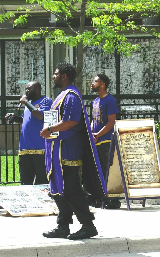 Black Hebrew Israelites In St. Paul, Minnesota Photograph