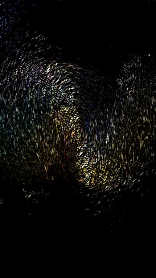 Echoing Black Hole by Maria Reverberi