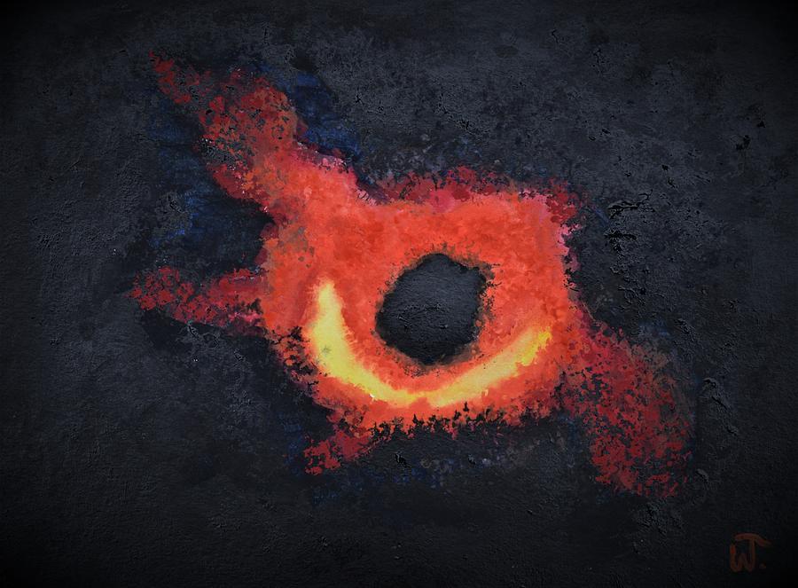 Black Hole of M867 by Warren Thompson