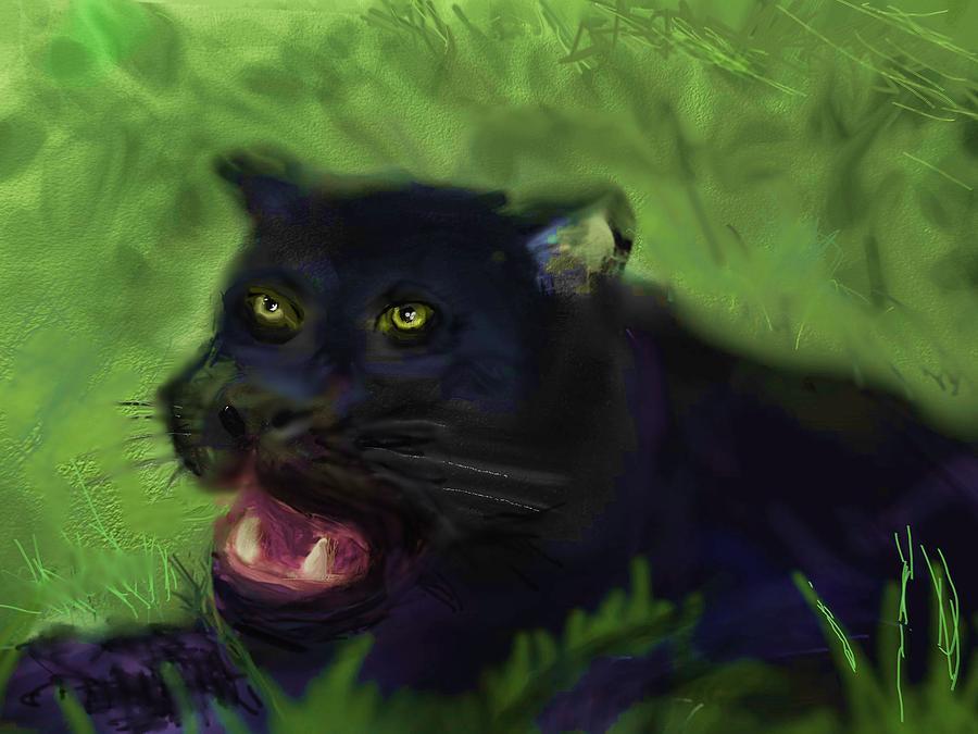 Black Leopard by Robert Rearick