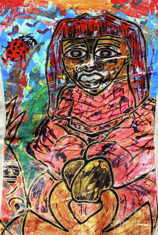 Black Madonna by Odalo Wasikhongo