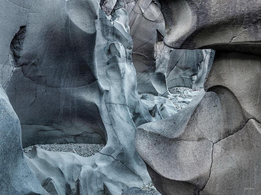 Basalt Photograph - Black Magic Canyon 10b by Leland D Howard