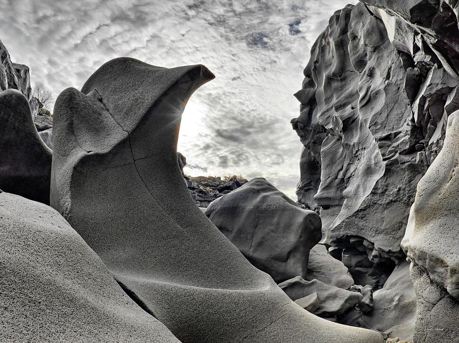 Balance Photograph - Black Magic Canyon by Leland D Howard