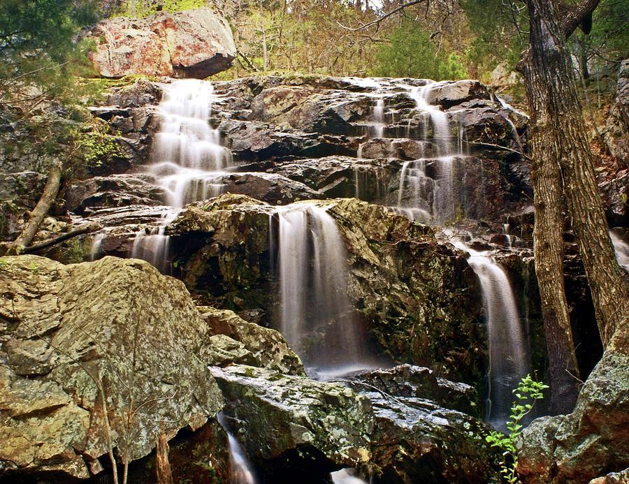 Black Mountain Falls 5 by Marty Koch