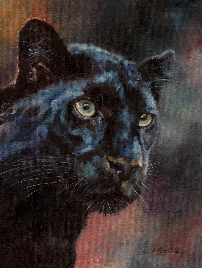 Black Panther 1 by David Stribbling