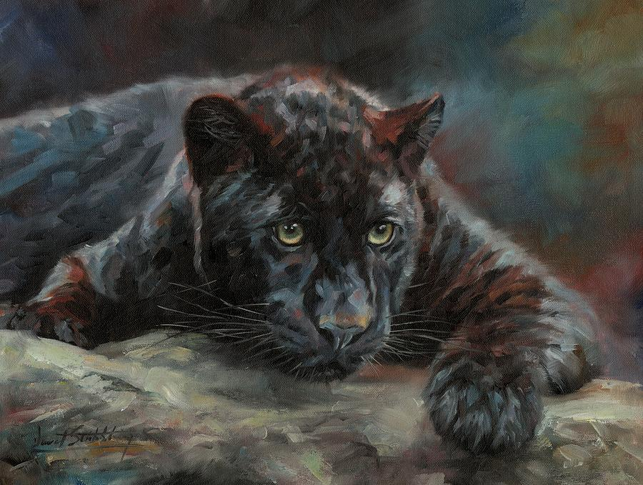 Black Panther 4 by David Stribbling