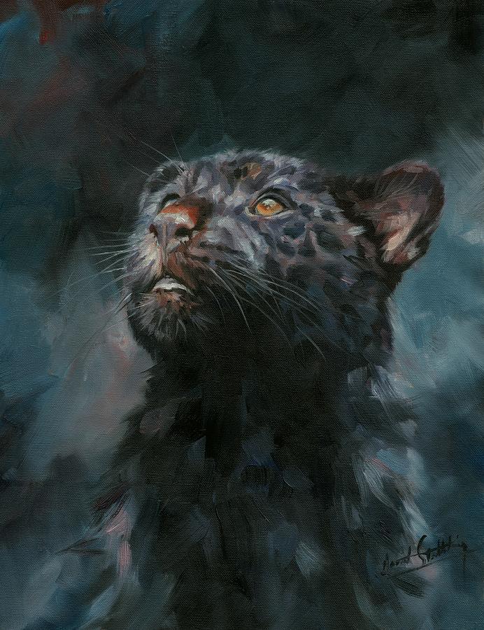 Black Panther 5 by David Stribbling