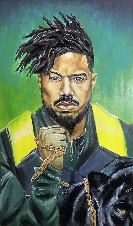 Black Panther - Erik Killmonger by Sean Linell Ivy-El