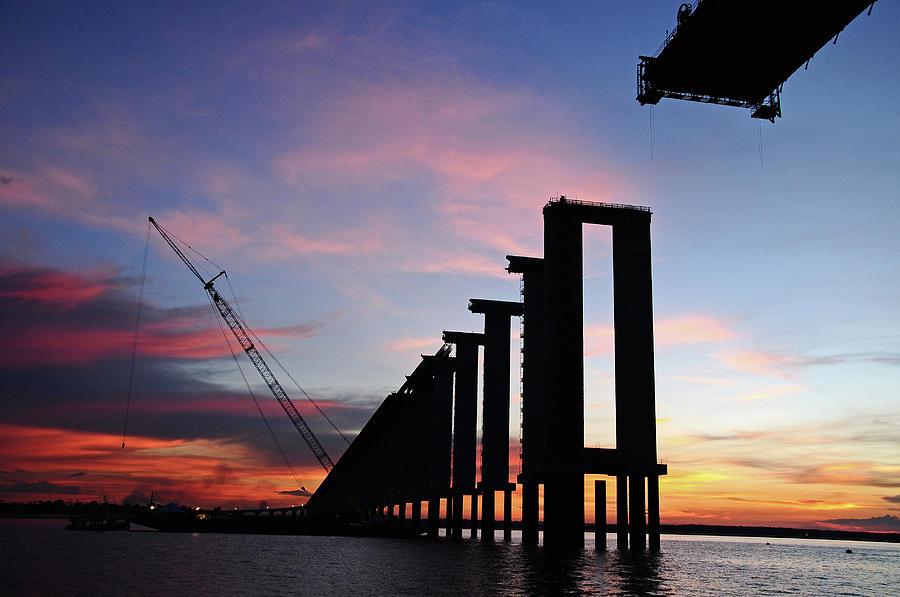 Black River Bridge Photograph by Fabionutti