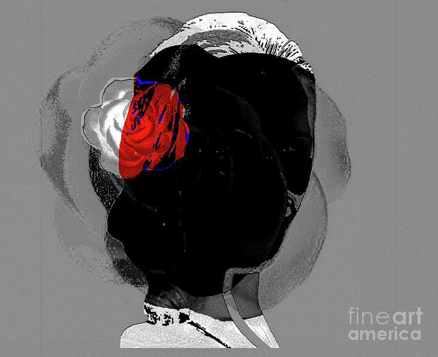 Black Rose Digital Art