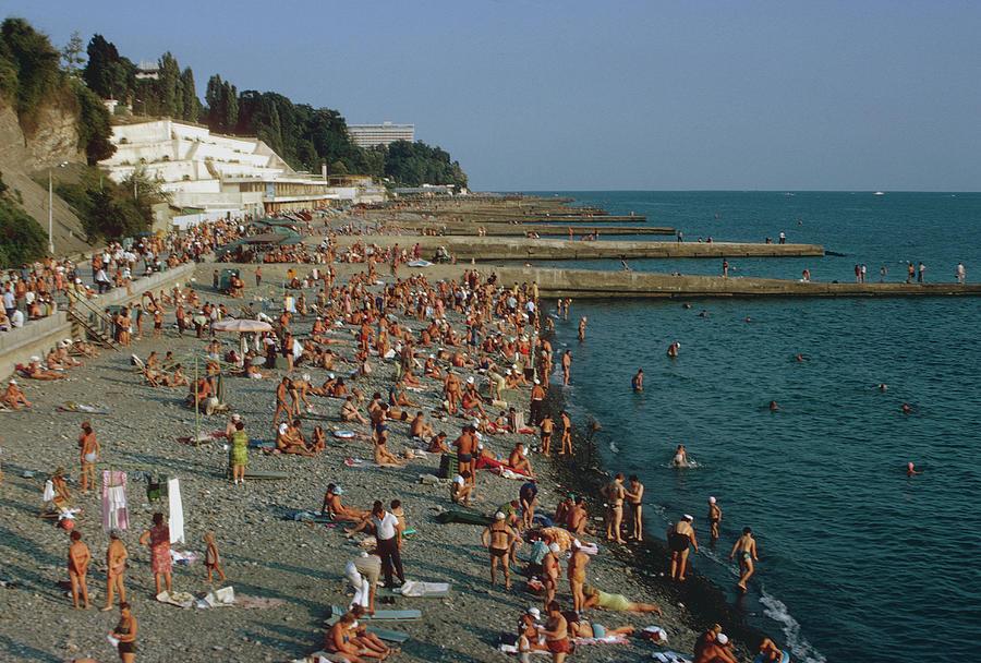 Black Sea Coast Photograph by Harvey Meston