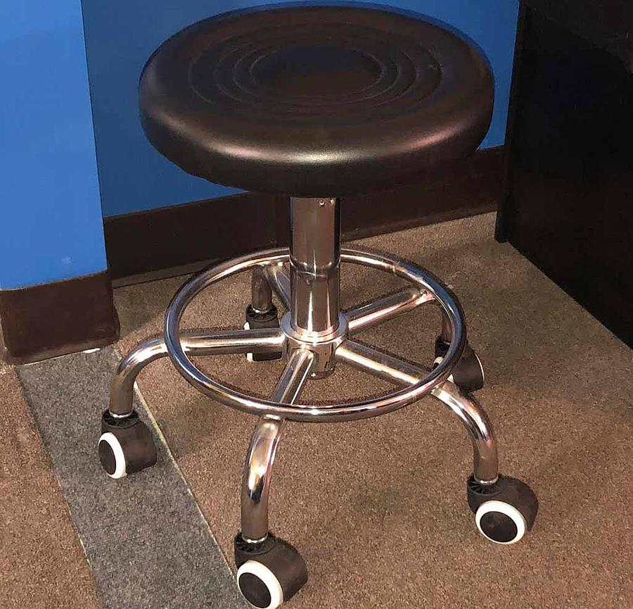 Terrific Black Stool Creativecarmelina Interior Chair Design Creativecarmelinacom