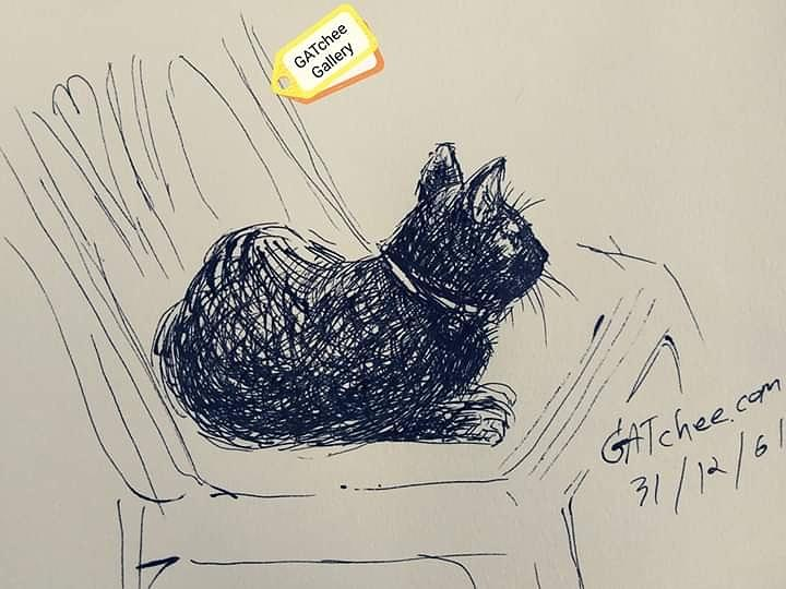 The black tiger by Sukalya Chearanantana