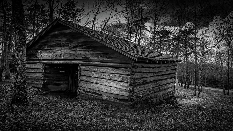 Black / White Barn by Rick Cooper