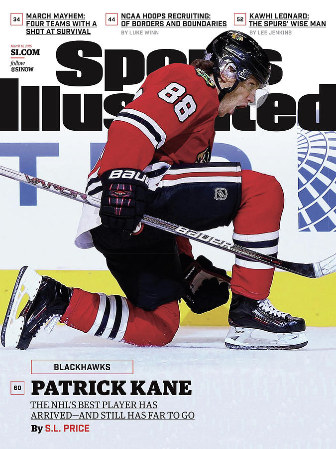 Blackhawks Patrick Kane The Nehls Best Player Has Arrived - Sports Illustrated Cover Photograph by Sports Illustrated