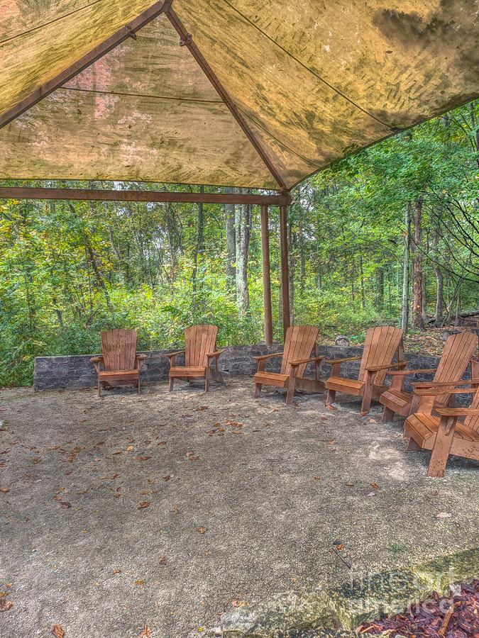 Blacklick Woods - Chairs by Jeremy Lankford